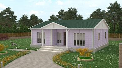 Prefabrik Villa 96 m²