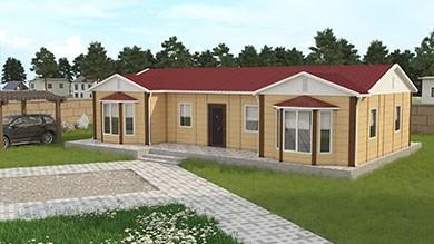 Prefabrik Villa 98 m²