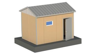 Prefabrik WC Duş 13 m²