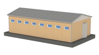 Prefabrik WC Duş 52 m²