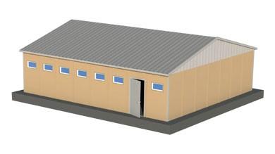 Prefabrik WC Duş 78 m²