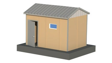 Prefabrik WC Duş 9 m²