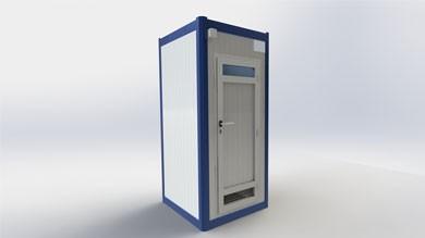 Wc Duş Kabini 110x110cm