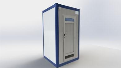 Wc Duş Kabini 130x130cm