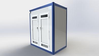 Wc Duş Kabini 130x210cm