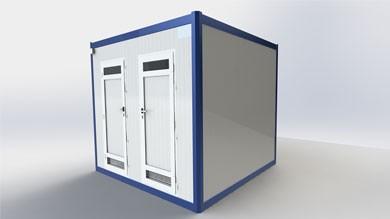 Wc Duş Kabini 250x250cm